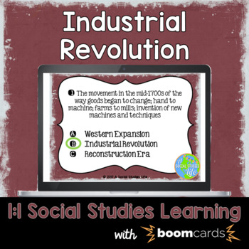 Industrial Revolution Interactive Task Cards