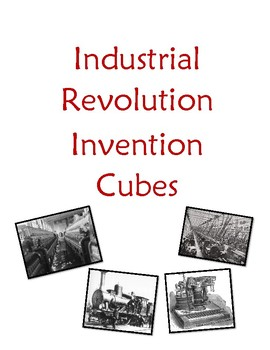 Industrial Revolution Invention Cubes