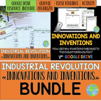 Industrial Revolution Inventions BUNDLE