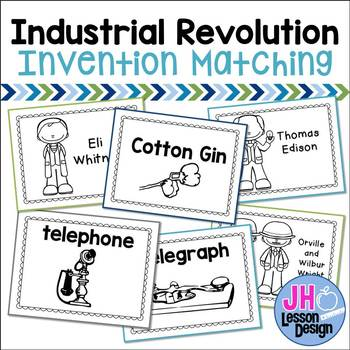 Industrial Revolution Inventions Match-Ups