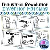Industrial Revolution Inventions Match-Ups