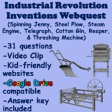 Industrial Revolution Inventions (Steel Plow, Steam Engine, Cotton Gin, Reaper)