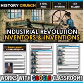 Industrial Revolution Inventions and Inventors - Questions and Key (8 Pages)
