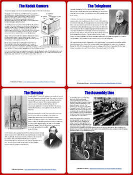Inventions of the Industrial Revolution Infomercial Group Project