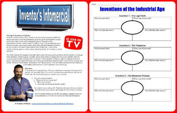 Industrial Revolution Inventions Infomercial Project
