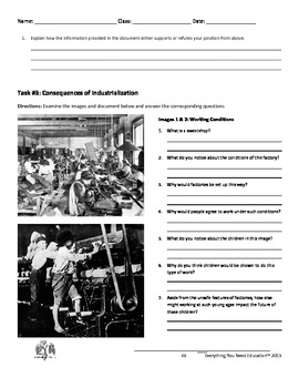Industrial Revolution Lesson: Industrial vs. Traditional Economy
