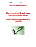 Industrial Revolution Lesson Plans - Notes, Activities, Vo