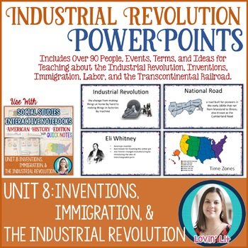 Industrial Revolution Lesson PowerPoints