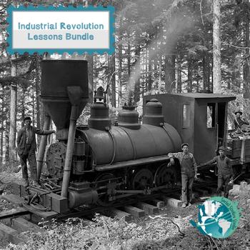 Industrial Revolution Lessons Bundle Pack - 5 Lessons