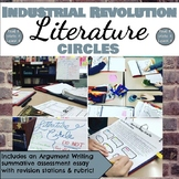 Industrial Revolution Literature Circle 6 Week Unit