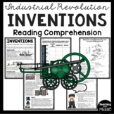 Industrial Revolution Inventions Reading Comprehension and DBQ