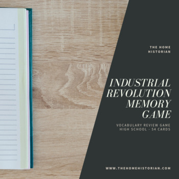 Industrial Revolution Memory Game