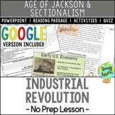 Industrial Revolution; New Technologies of the 1800s; Dist