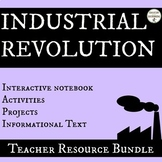 Industrial Revolution Activities and notes bundle