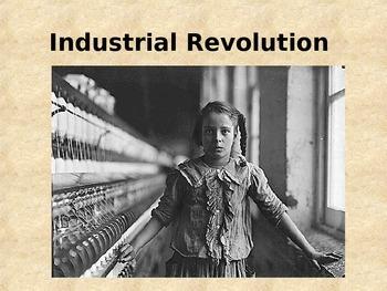 Industrial Revolution PPT's