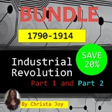 Industrial Revolution Part 1 & 2 BUNDLE for Special Education with lesson plans