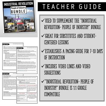 Industrial Revolution- People of Industry: TEACHER GUIDE