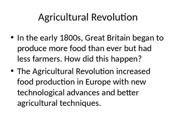 Industrial Revolution Power-Point