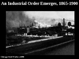Industrial Revolution, Immigration, and Urbanization PowerPoint