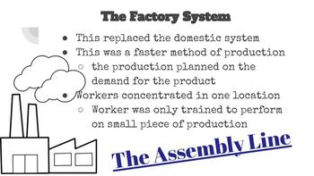 Industrial Revolution PowerPoint and Notes