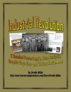 Industrial Revolution - PowerPoint's plus Writing Assignme