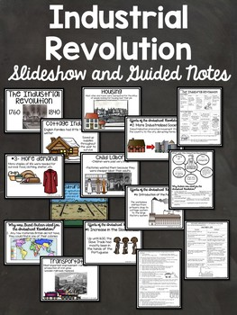 Industrial Revolution in Europe- Powerpoint, video links, from start to finish