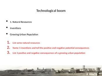 Industrial Revolution Powerpoint with activities