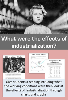 Industrial Revolution: Project, Readings, Simulations, and Assessment