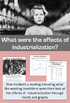 Industrial Revolution: Project, Readings, Simulations, and