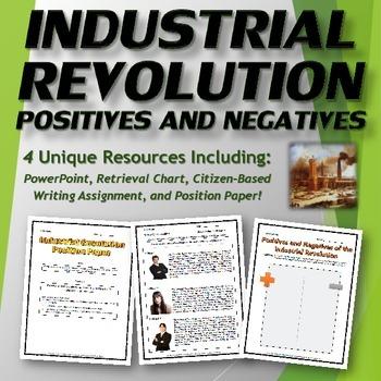 Industrial Revolution - Positives and Negatives Bundle - P