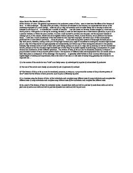 Industrial Revolution Reading Comprehension Pack