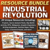 Industrial Revolution Resource Bundle (Projects, Source Analysis, PPT's, etc)