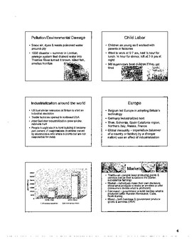 Industrial Revolution Resources for Teachers & Students
