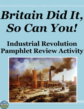 Industrial Revolution Review Activity