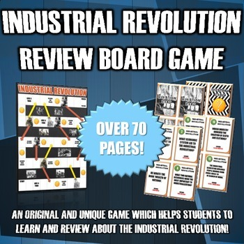 Industrial Revolution - Review Board Game (44 Industrial Revolution Questions)