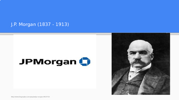 Industrial Revolution - Robber Barons PowerPoint