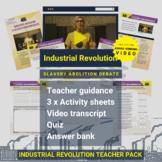 Industrial Revolution   Slavery Abolition Debate Activity