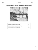 Industrial Revolution - Social Impact and Labors Response in England