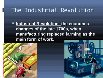 Industrial Revolution/ Spread of Plantations and Slavery/ Nationalism and Sectio
