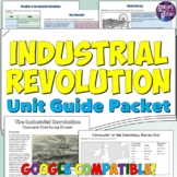 Industrial Revolution Study Guide and Unit Packet