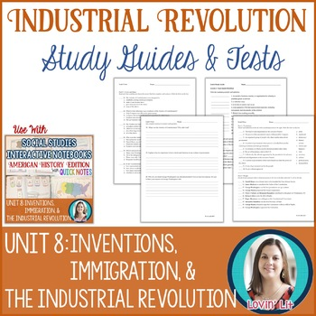 Industrial Revolution Study Guides and Tests
