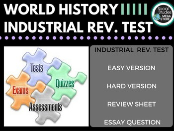 Industrial Revolution Test and Quizzes