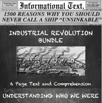 Industrial Revolution--The Good, the Bad, and the Ugly