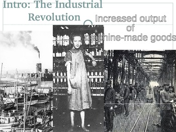 Industrial Revolution (The Start & Major Effects)