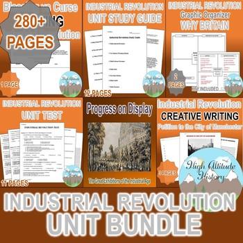 Industrial Revolution Unit *Unit Bundle* (World History / U.S. History)