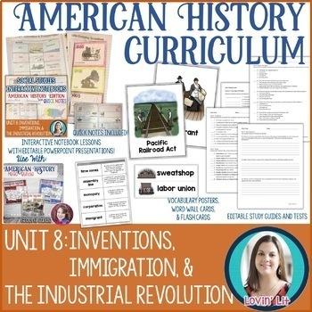 Industrial Revolution Unit Bundle