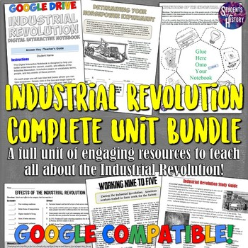 Industrial Revolution Complete Unit Bundle