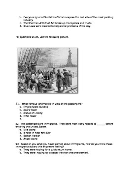 Industrial Revolution Unit Test
