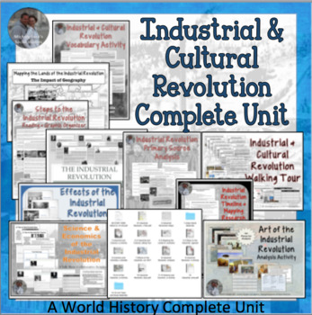 Industrial Revolution Unit for World, European, or U.S. History COMPLETE