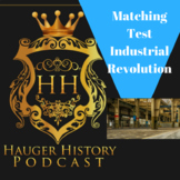 Industrial Revolution Vocab and Key Figures Matching Test